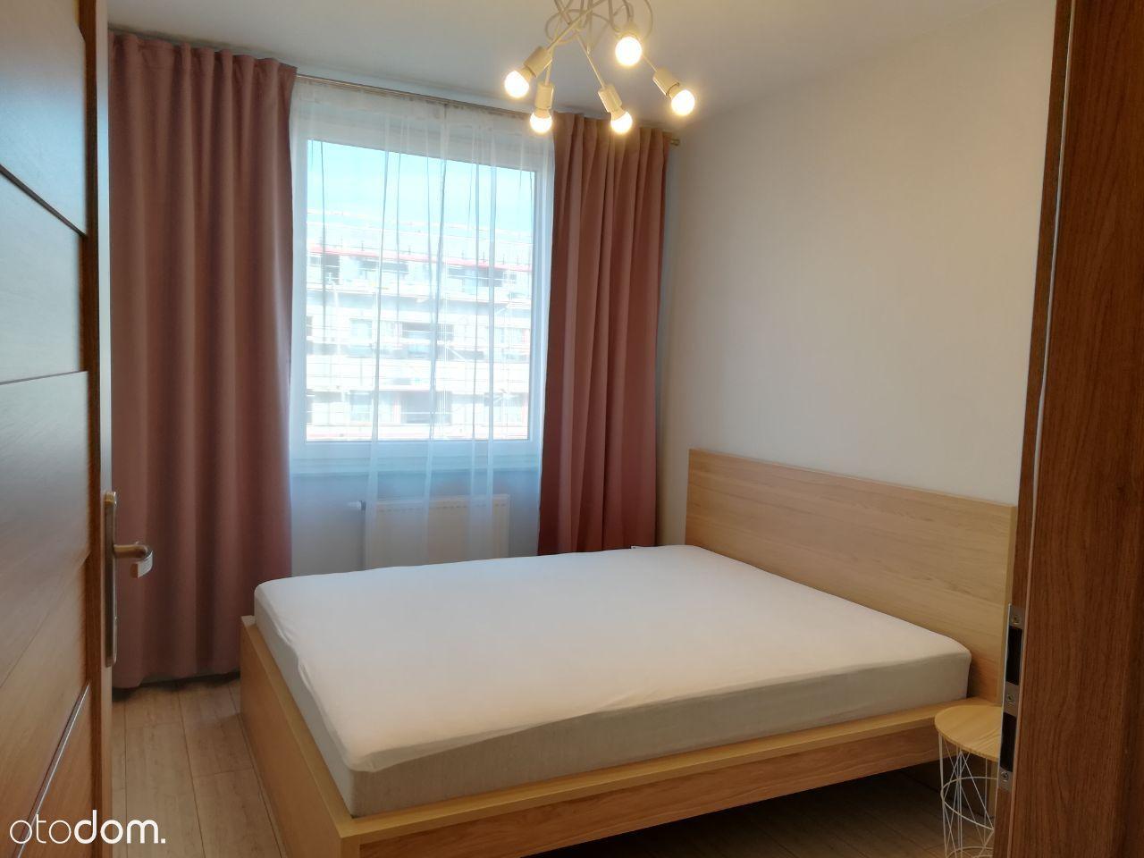 Nowe i ciche, 2 pokoje 45m2, kuchnia, loggia ENG