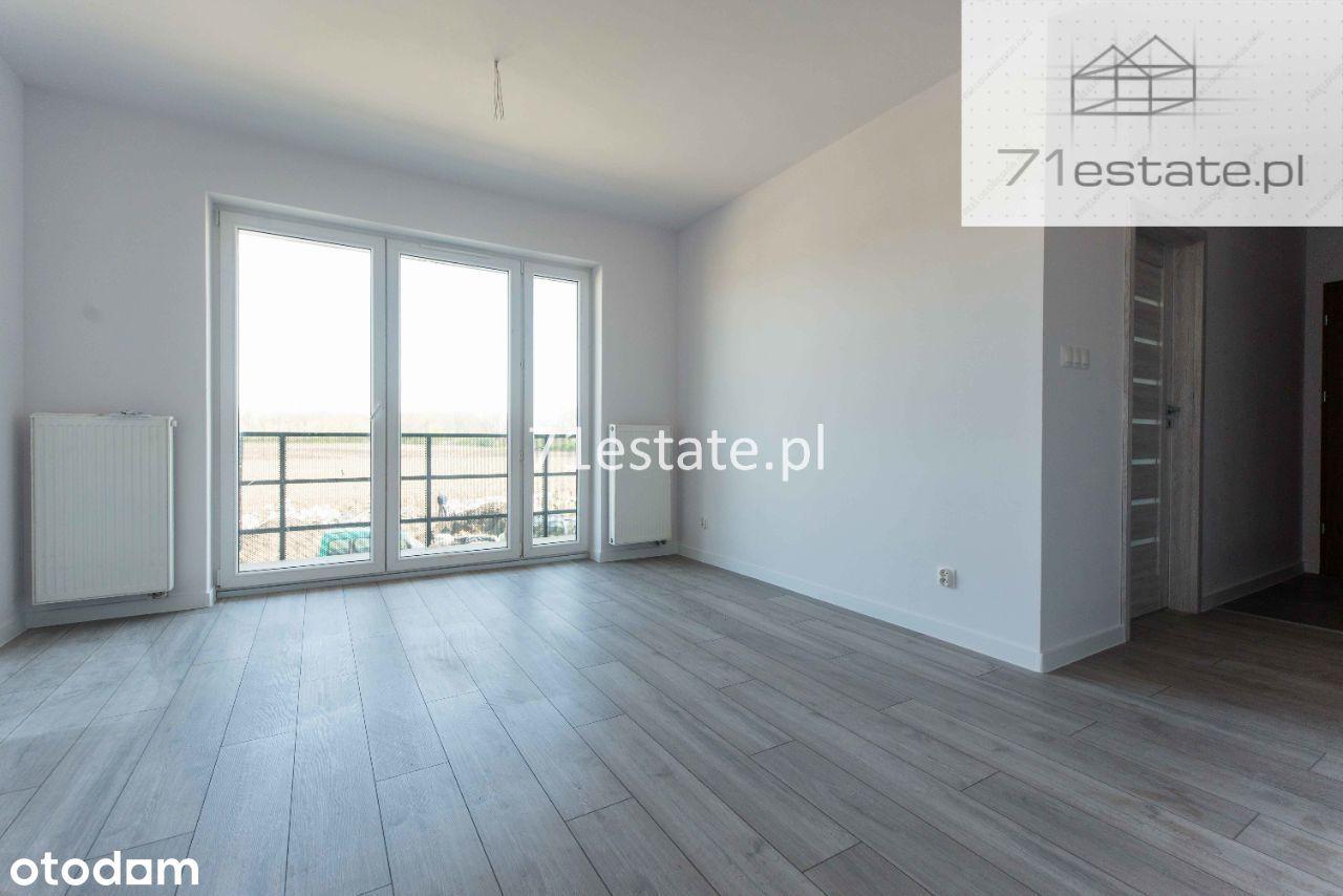 2 POKOJE/43m2 + Balkon 12m2 + M.P/ GOTOWE Listopad