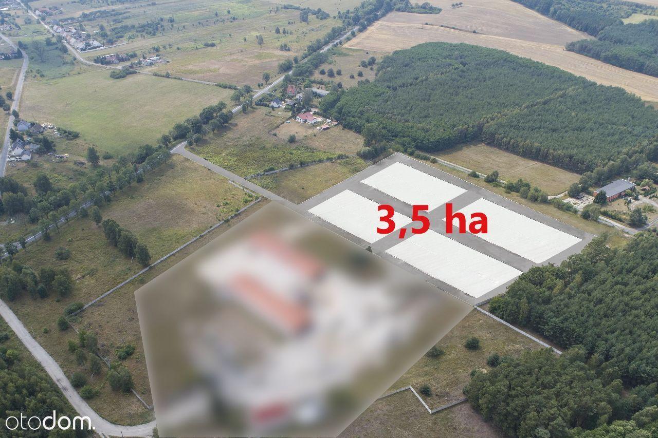 Działka 3,5 ha - teren inwestycyjny