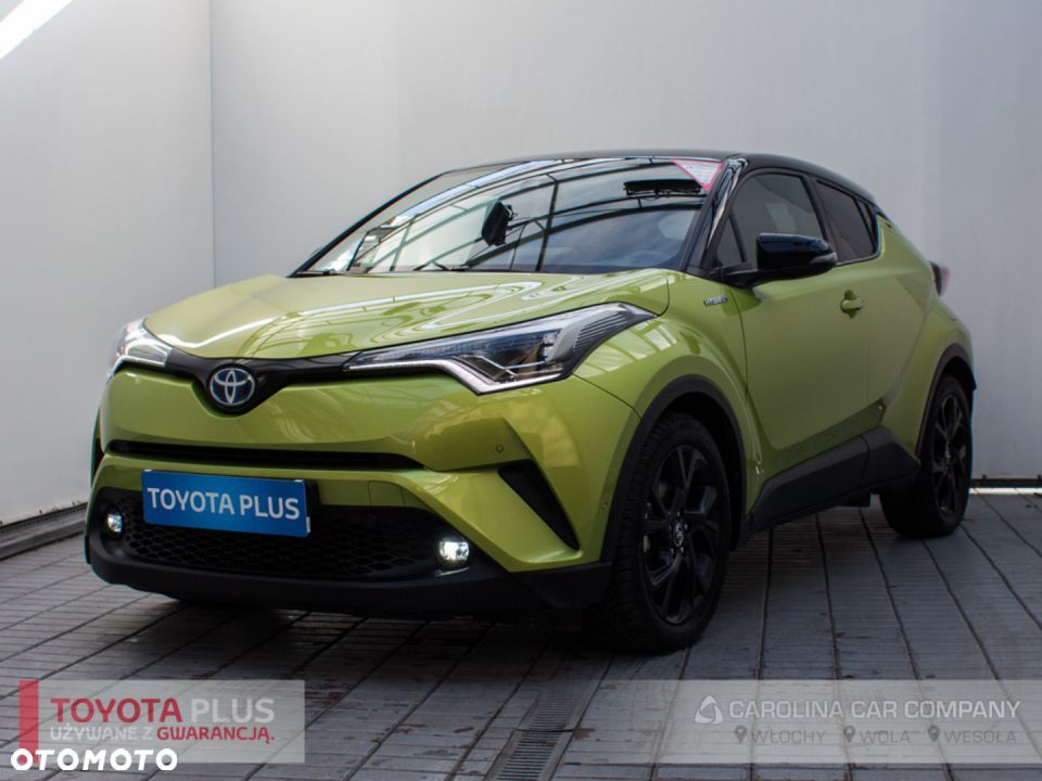 Toyota C-HR 1.8 Hybrid Neon Lime powered by JBL - 1