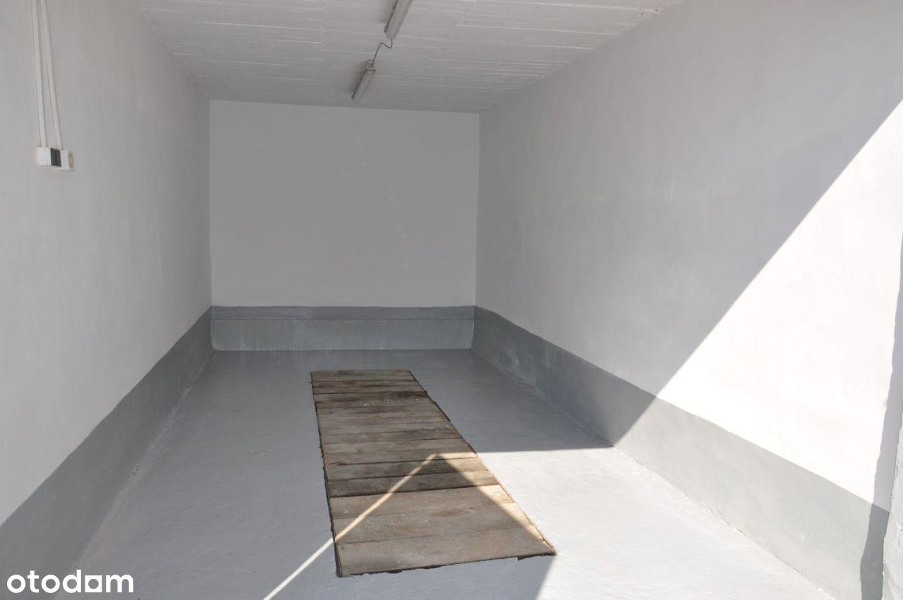 Murowany garaż na Czyżykowie