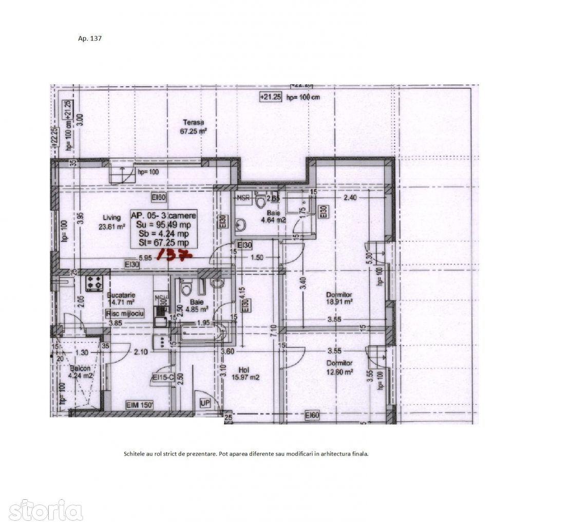 Apartament 3 camere Titan Penthouse - Metrou 1 Decembrie 1918