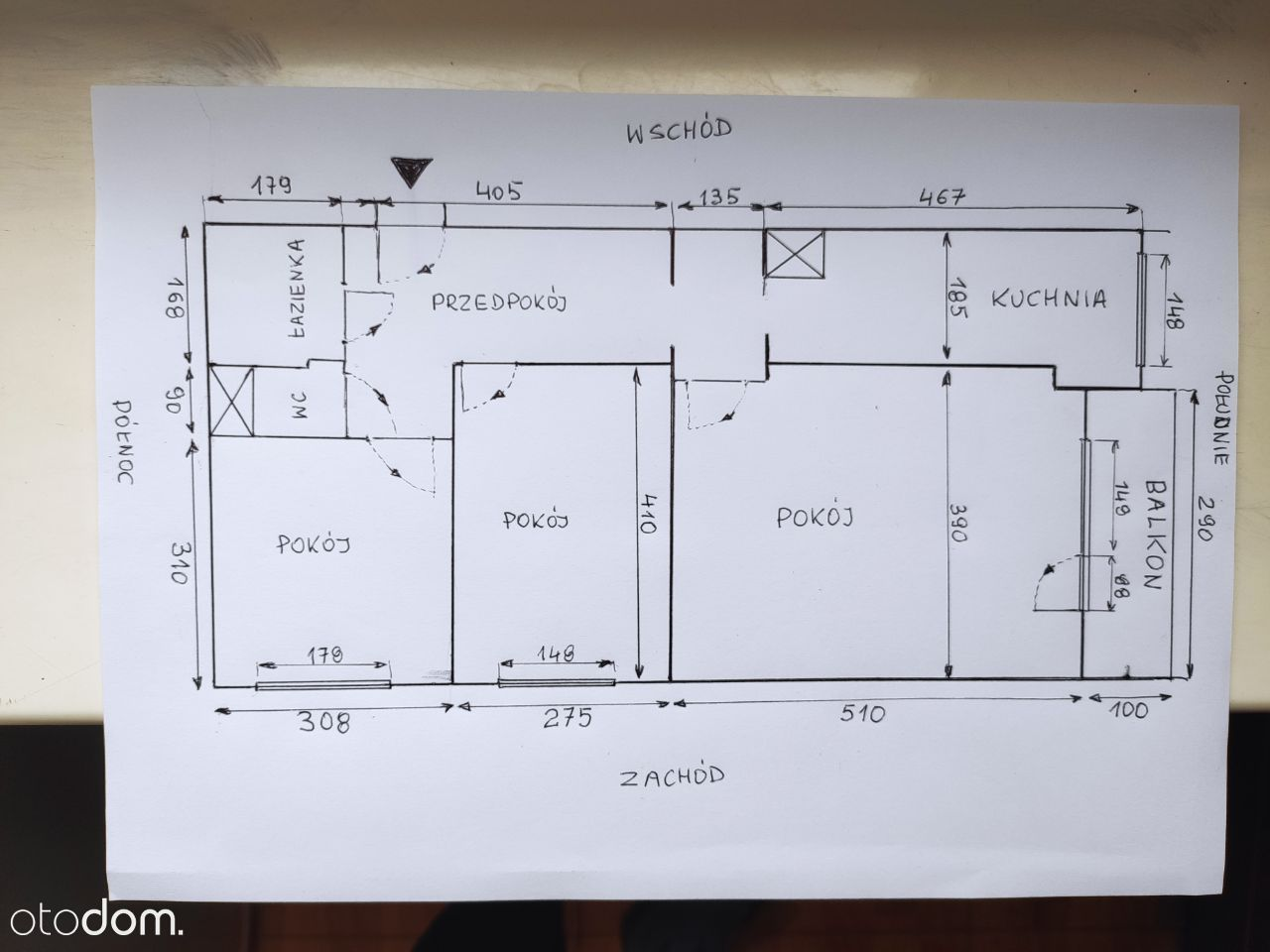 3 Pokoje, Słoneczne, Komfortowe, do zamieszkania,
