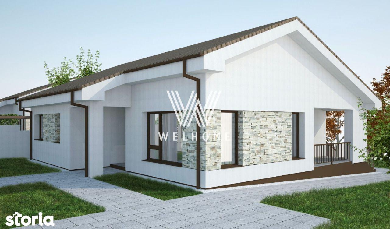 Casa individuala pe un singur nivel, teren 700 mp, in Sura Mare, Sibiu