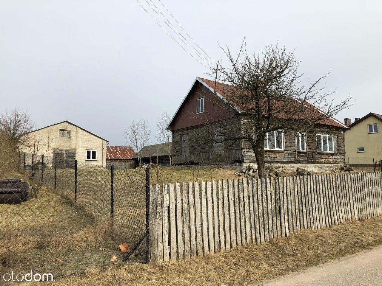 Kiełpiniec - dom wraz zabudowaniami gospodarczymi