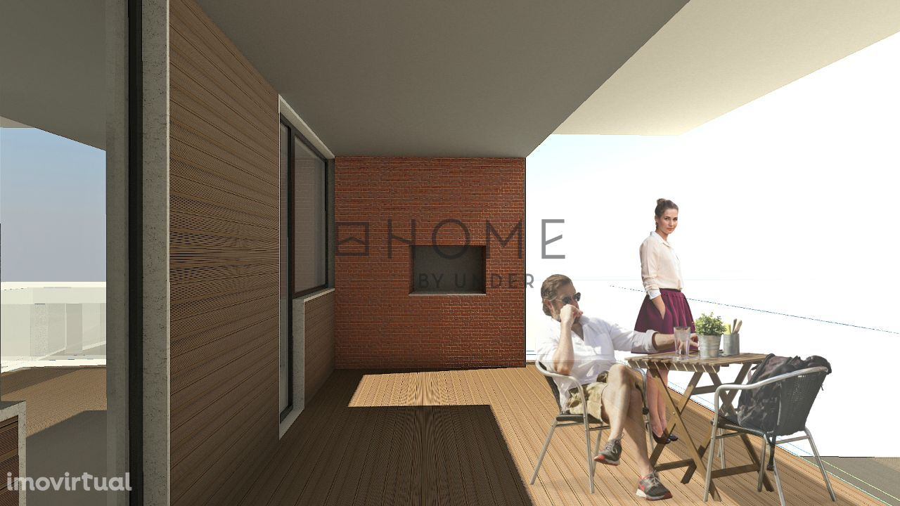 Apartamento T2 em Ovar, Primeiro Andar, em Construção