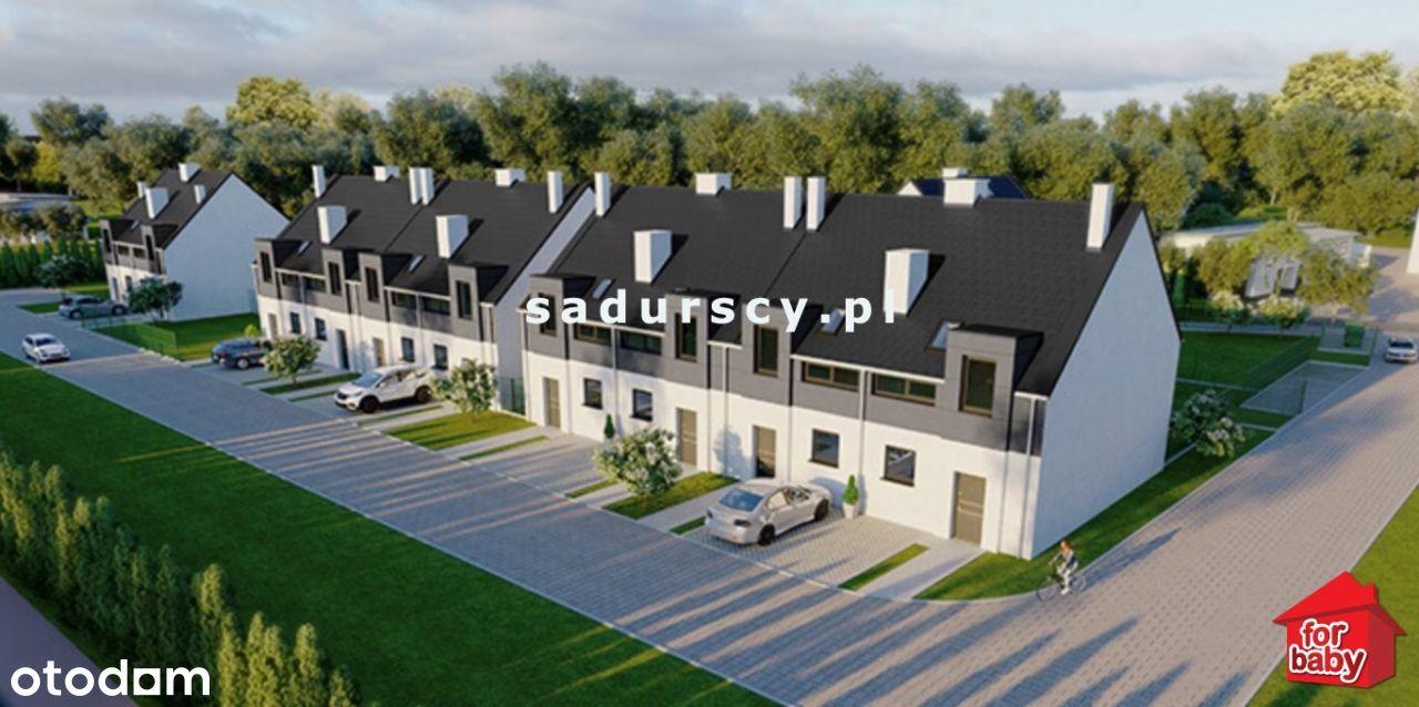 Bieżanów - domy w zabudowie szeregowej