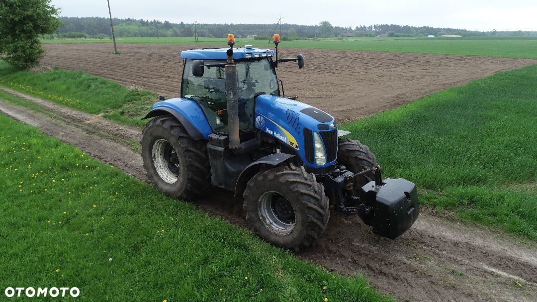 New Holland T8050  New Holland T8050 Nawigacja Trimble - 2