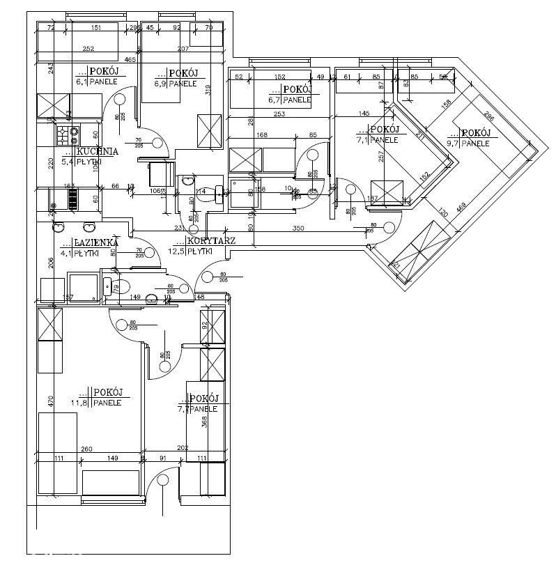 Mieszkanie Inwestycyje 7 pokoi Piątkowo