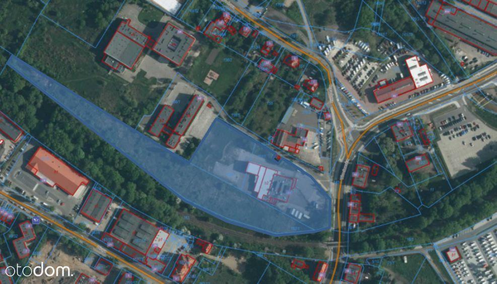 2 ha działki z zakładem przemysłowym