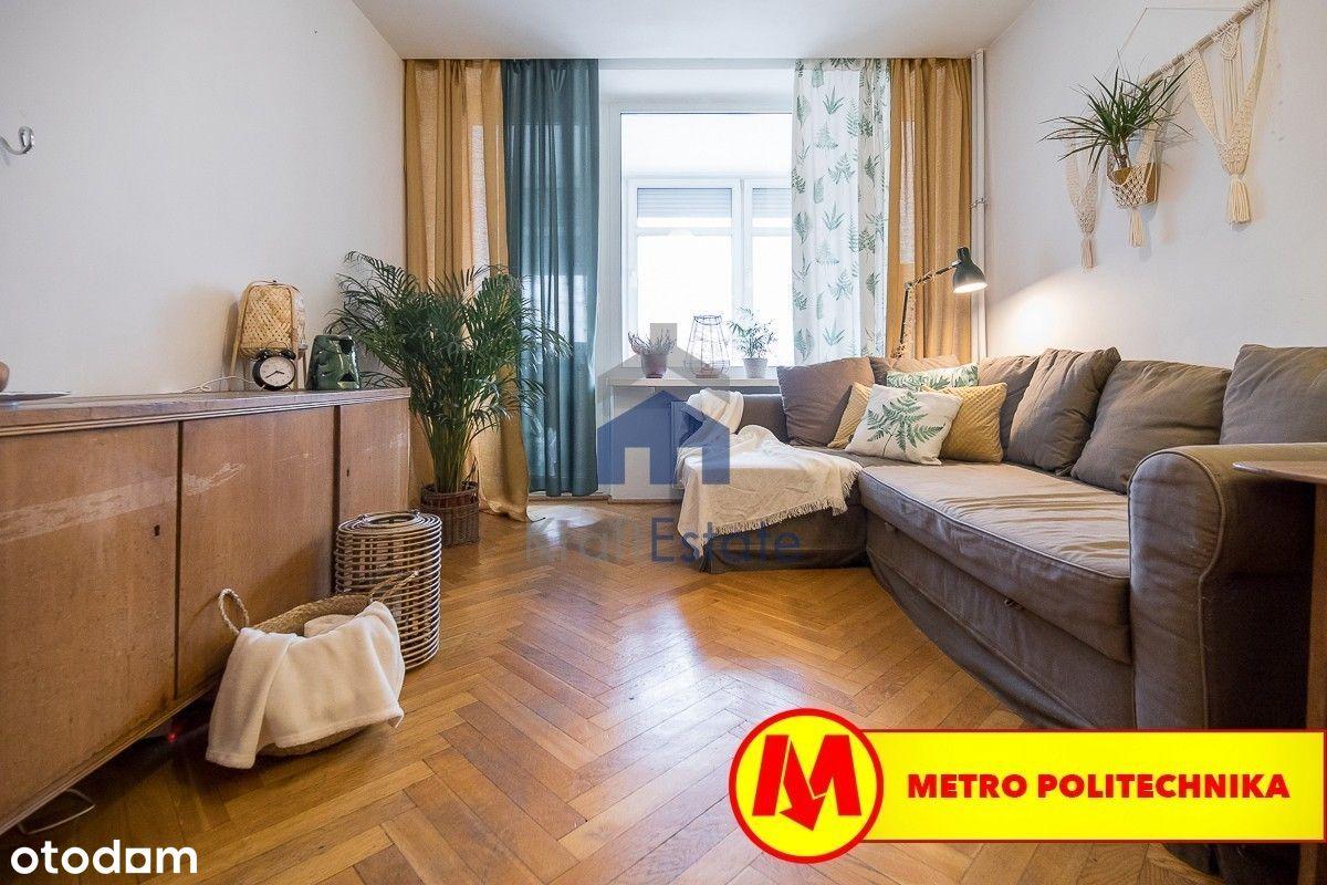 Kamienica przy Metro Politechnika - 2 pok. 48 m2