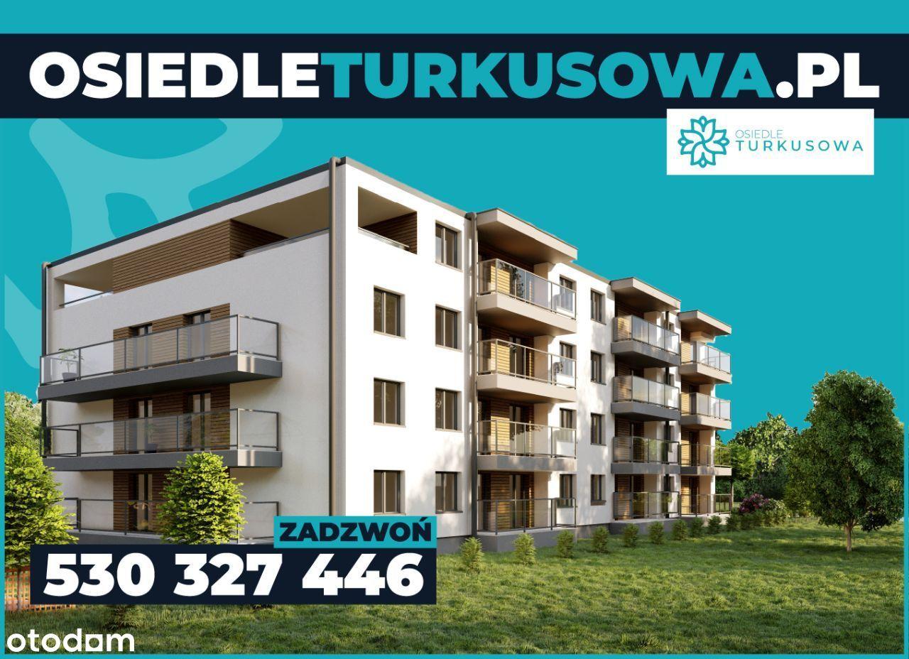Mieszkanie 3 pokojowe z południowym ogrodem 39,5m2