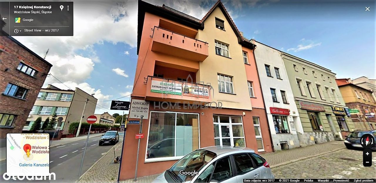 Lokal użytkowy, 82,12 m², Wodzisław Śląski