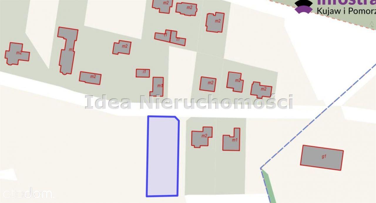 Działka, 1 427 m², Brzoza
