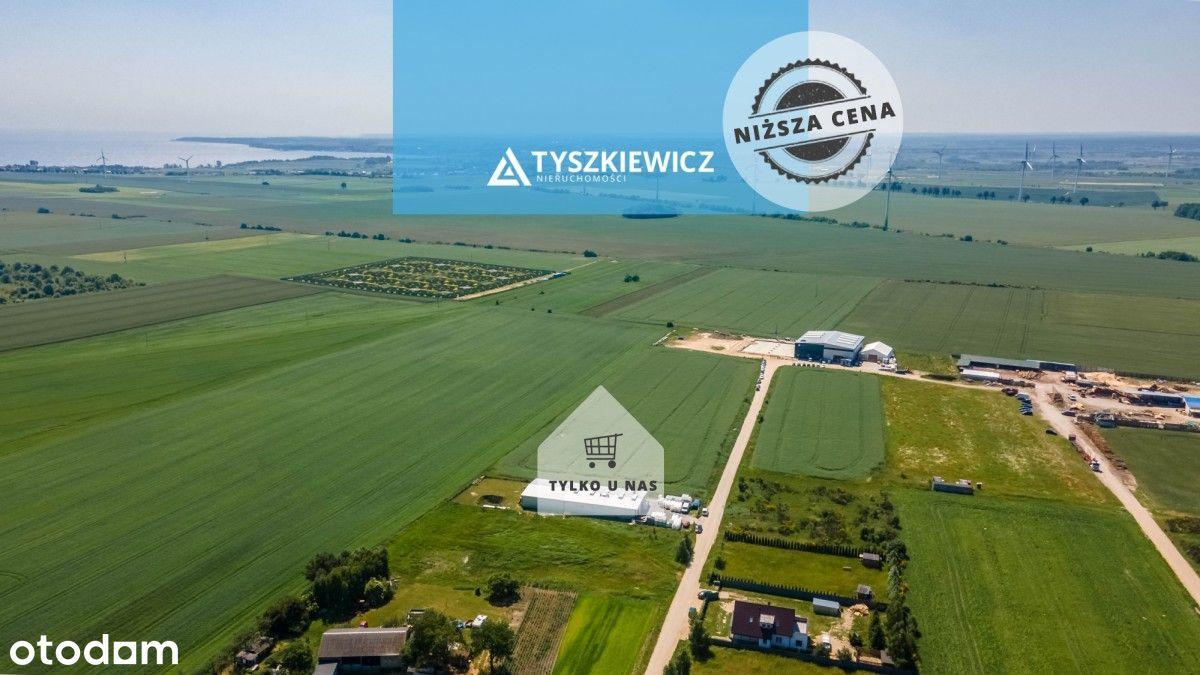 Działka przemysłowo- usługowa w Łebczu