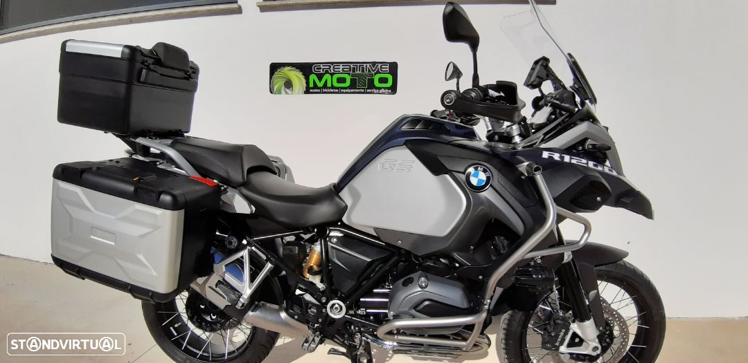 BMW R  1200 gs adventure (rebaixada) - 1