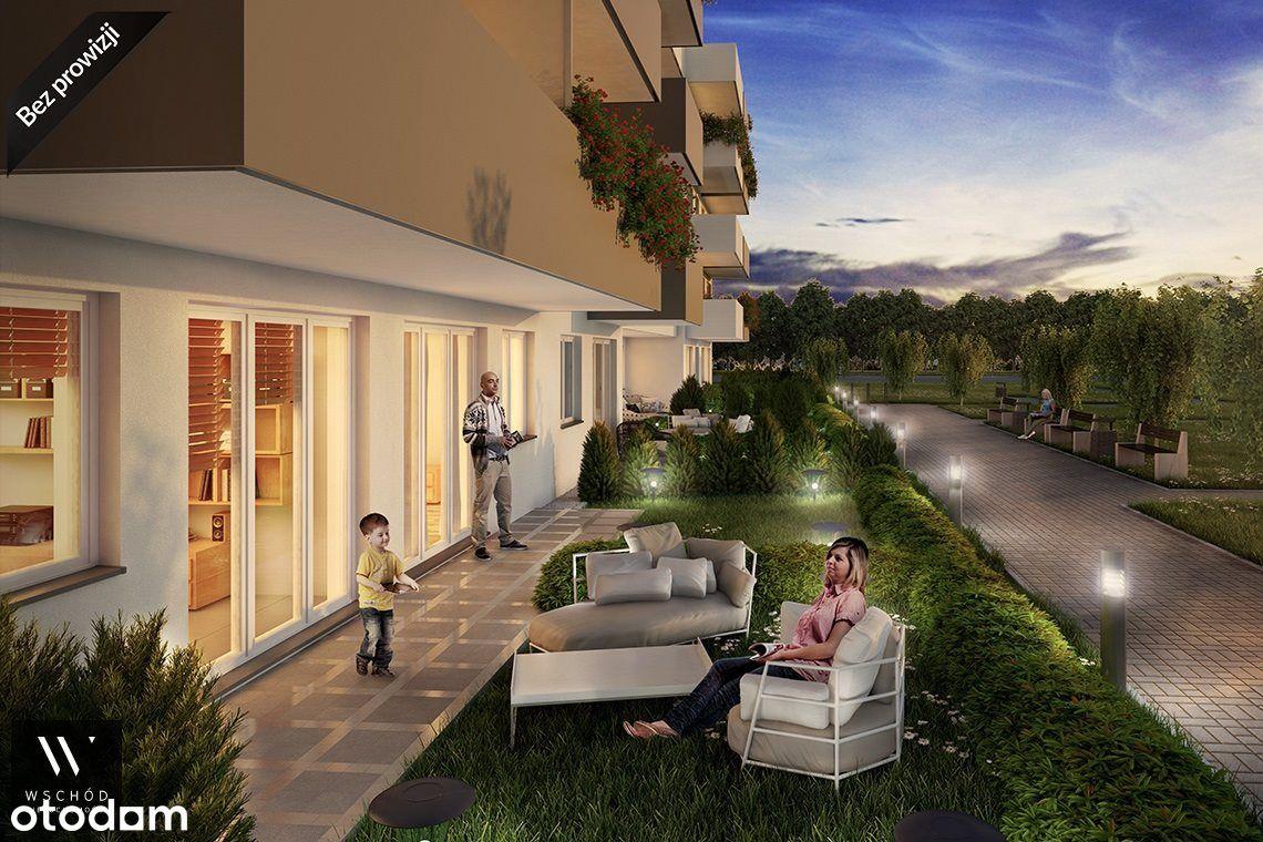 2 pokoje z ogródkiem, m. postojowe + Smart Homw
