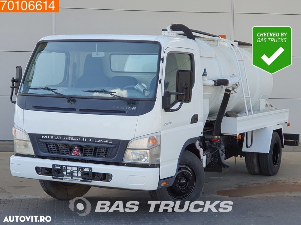 Mitsubishi Fuso Canter 4X2 Unused! Sewage Tank Full-steel - 1