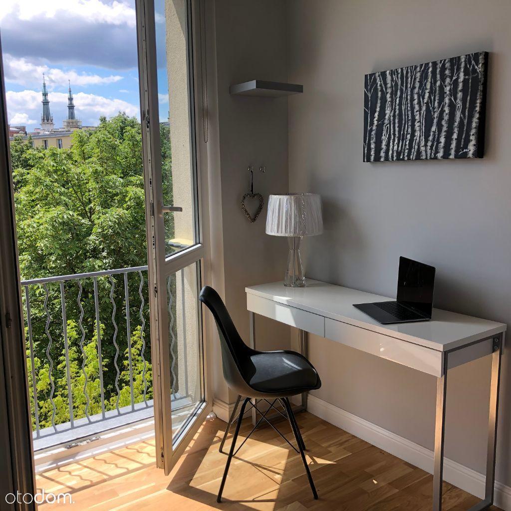 Dwu pokojowe z balkonem przy Koszykowej