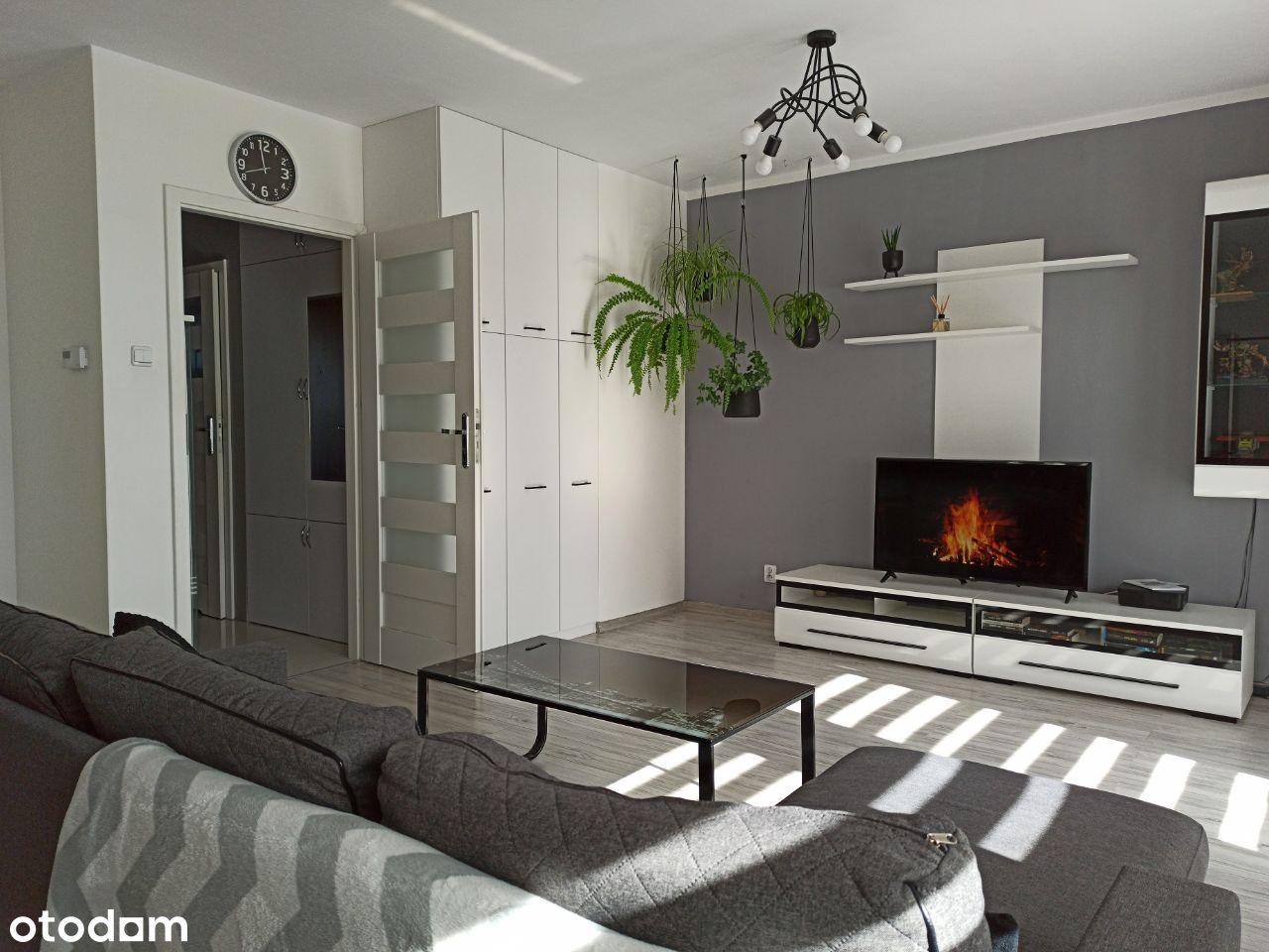 Piękne mieszkanie pod klucz 47m, 2 pokoje duży bal