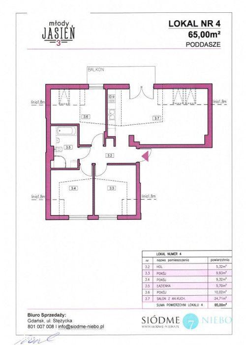 Mieszkanie 75 m2 Młody Jasień od właściciela