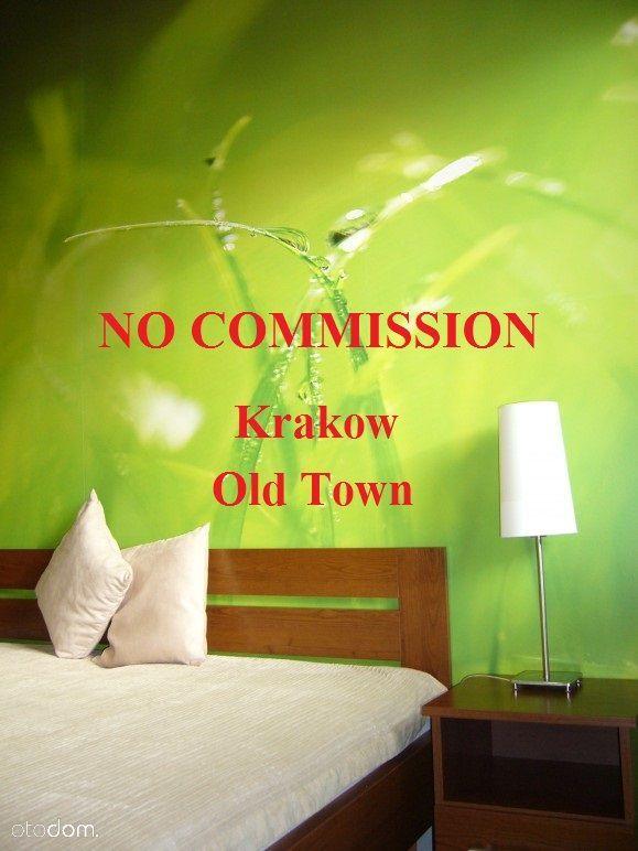 Krakow, 2-rooms, Old Town, Kazimierz, no commissio