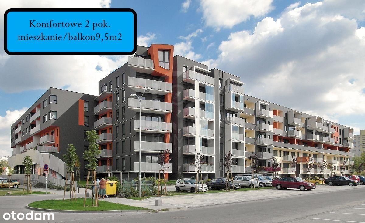 Mieszkanie, 44,78 m², Wrocław