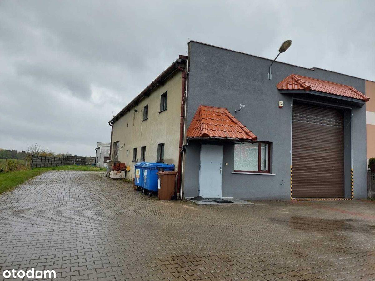 Niezależna nieruchomość - 2 Magazyny, Dom,Biuro