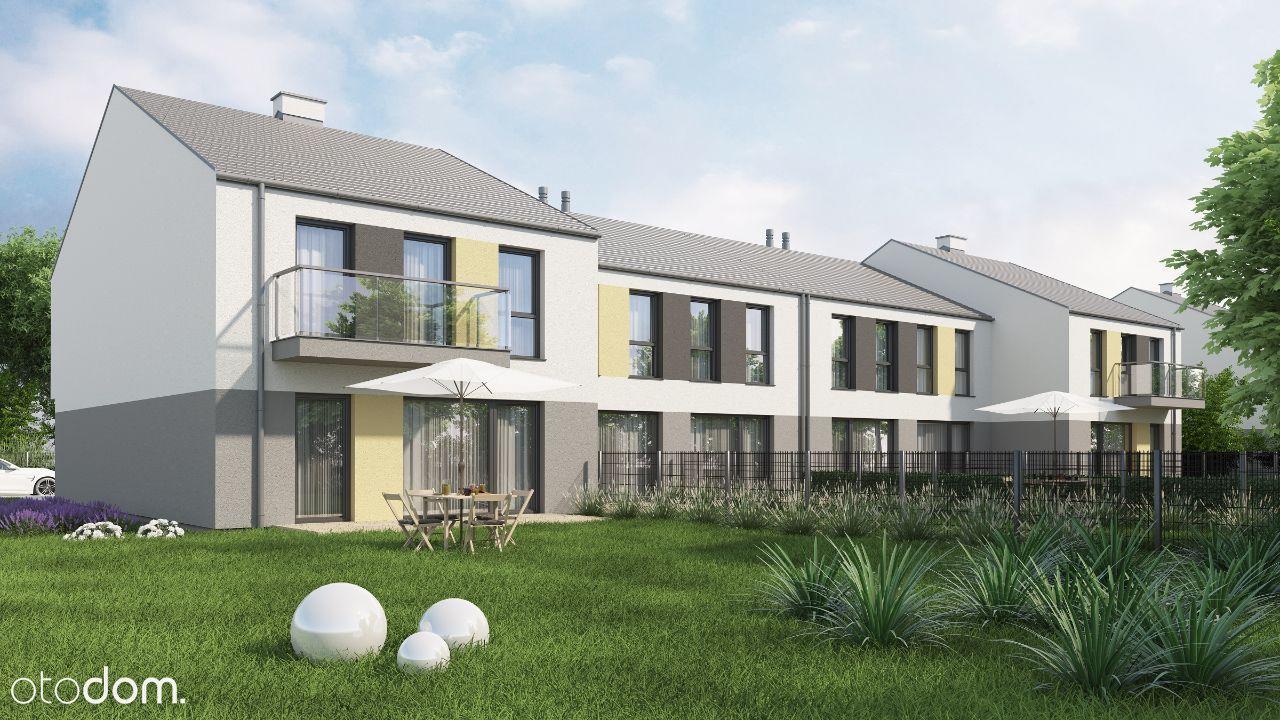 Dwupoziomowe mieszkania z ogródkiem nowe Oława
