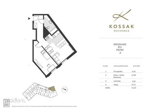 Kossak Residence Apartament Nad Wisłą 51m