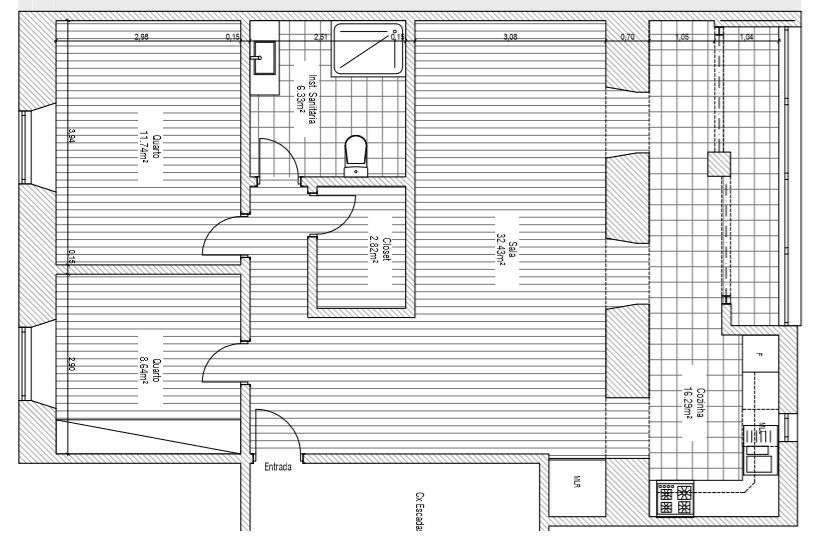 Apartamento para comprar, Rua da Bela Vista à Graça, São Vicente - Foto 1