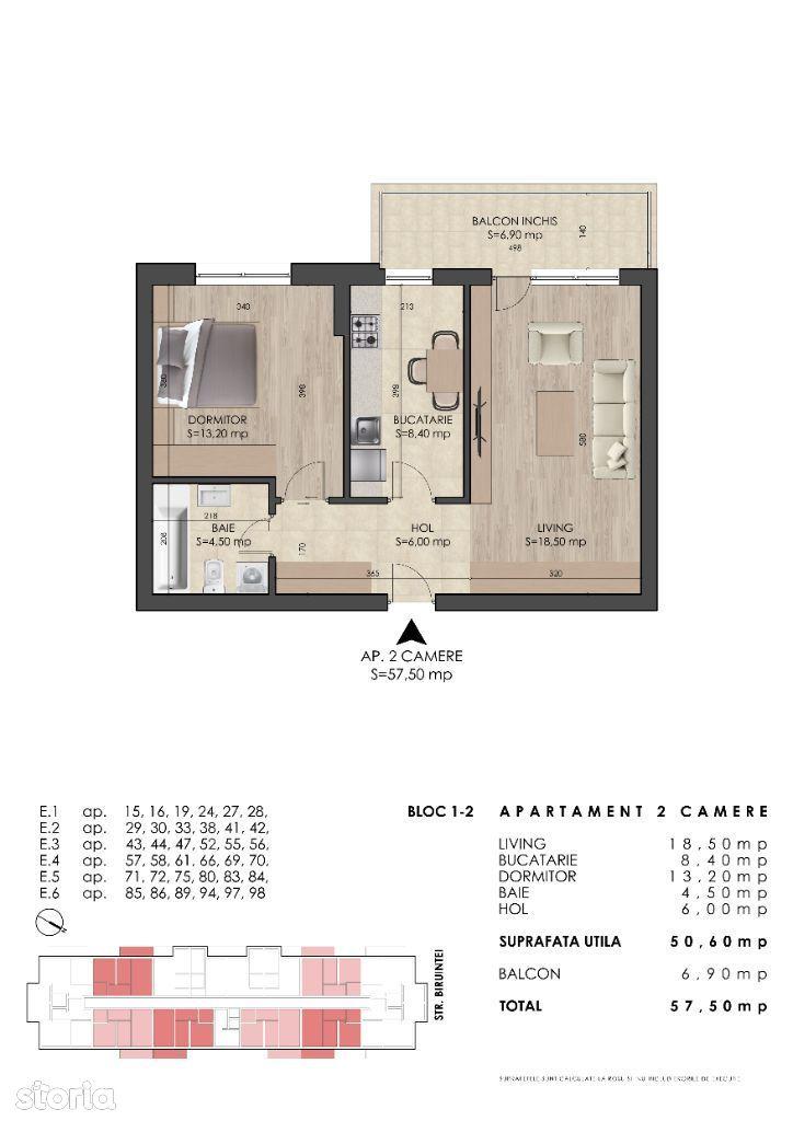 Apartament 2 camere, metrou Berceni