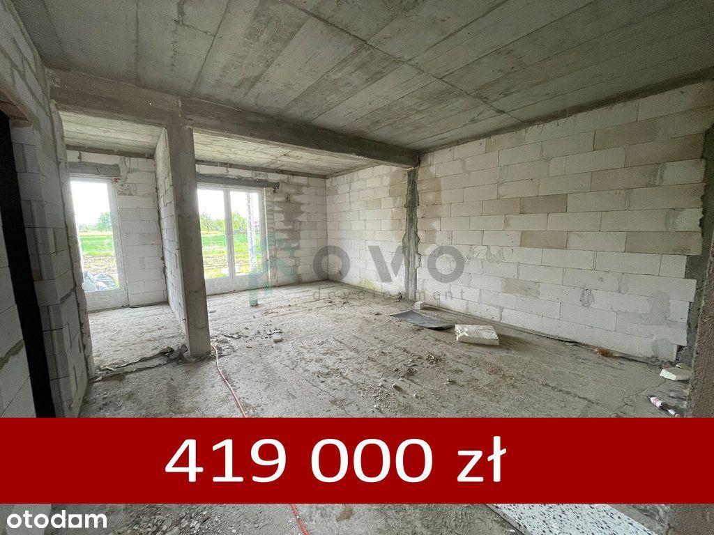 Bezczynszowe Mieszkanie 76 m2 z ogrodem 3 pokoje