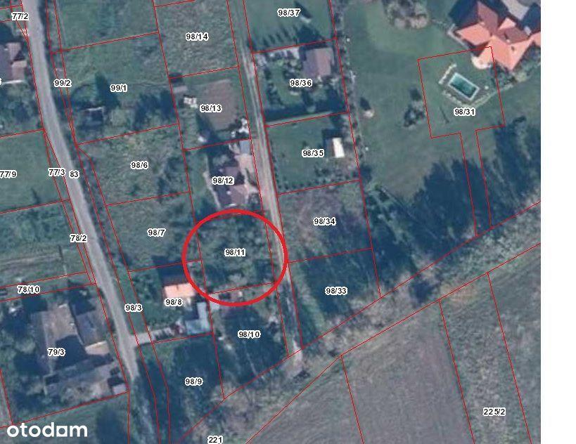 WYSZEWO - Działka budowlana 720 m2 gm Manowo