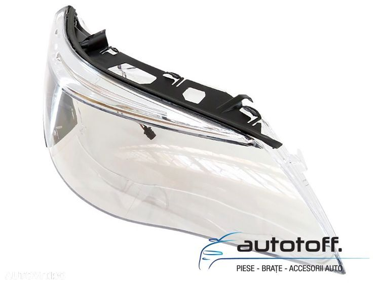 Sticle faruri BMW E60 Seria 5 (03-07) - 6