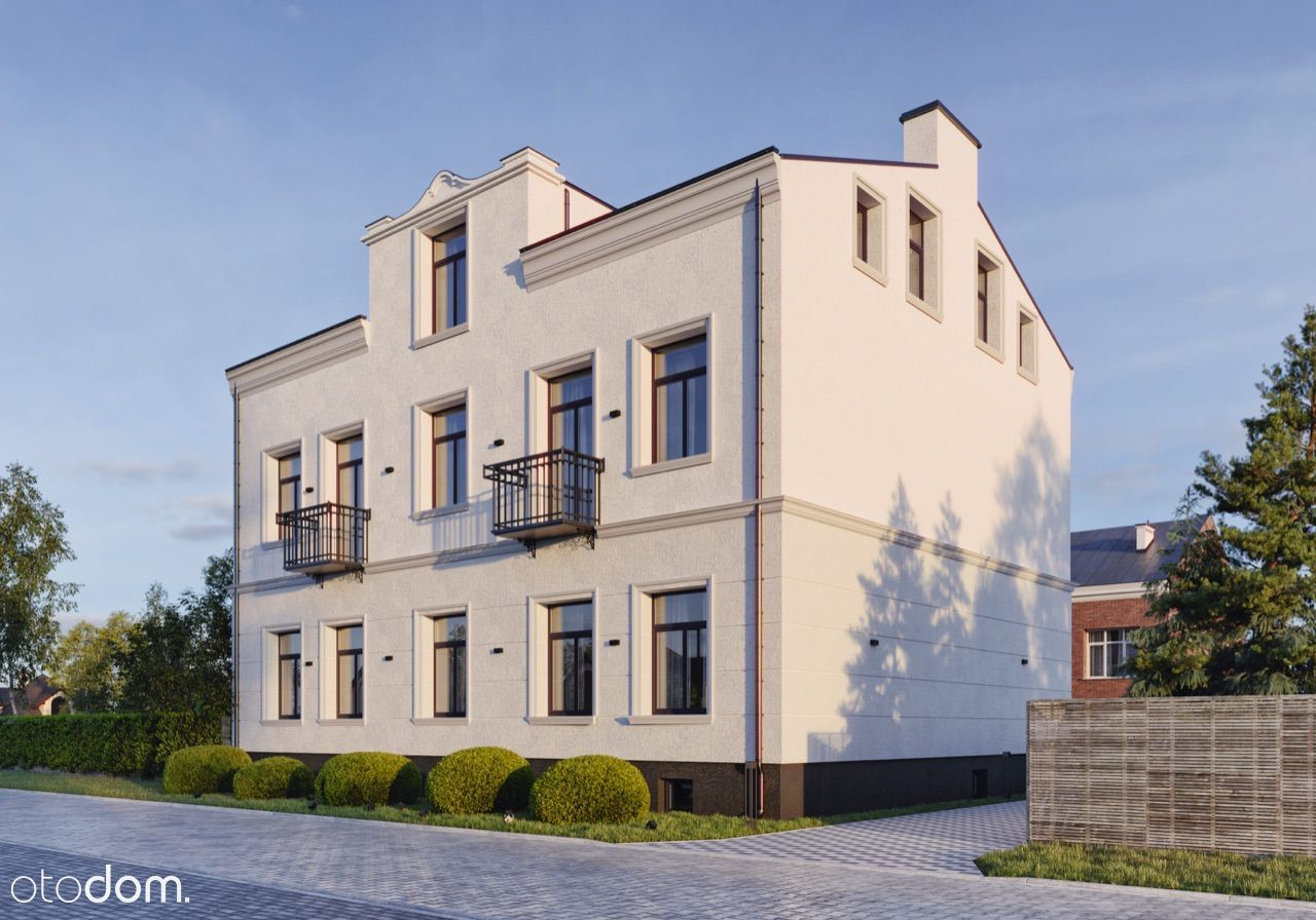 Mieszkanie w rewitalizowanej kamienicy, Pruszków