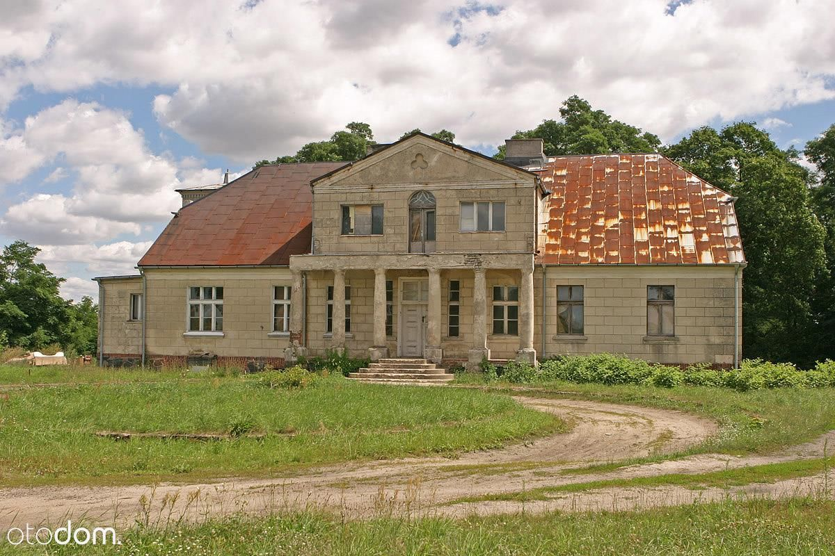 Zabytkowy pałac z 1844roku z 20ha gruntów