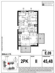 Apartament w inwestycji LakeCity (E.09)