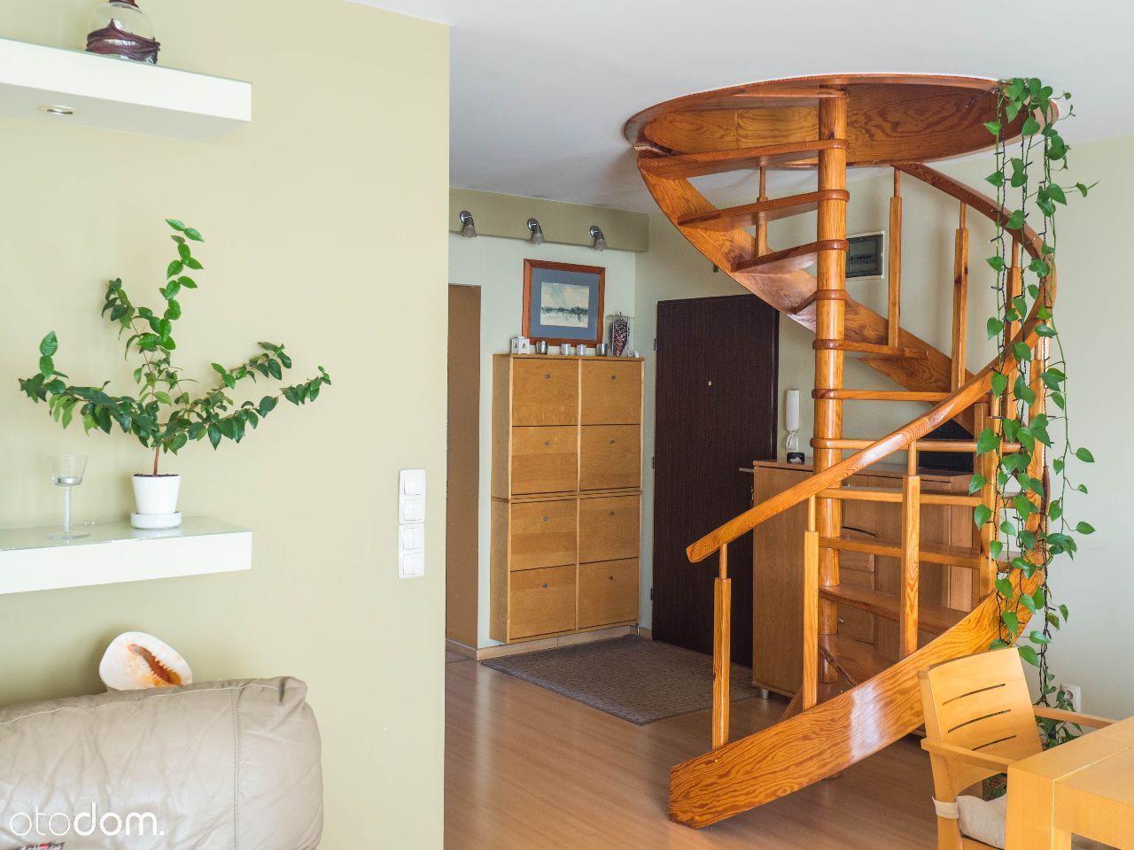 Bezpośrednio, wyjątkowe dwupoziomowe mieszkanie