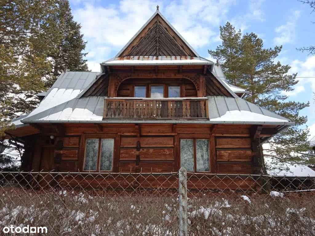Góralski dom w Zakopanem - okazja cenowa!