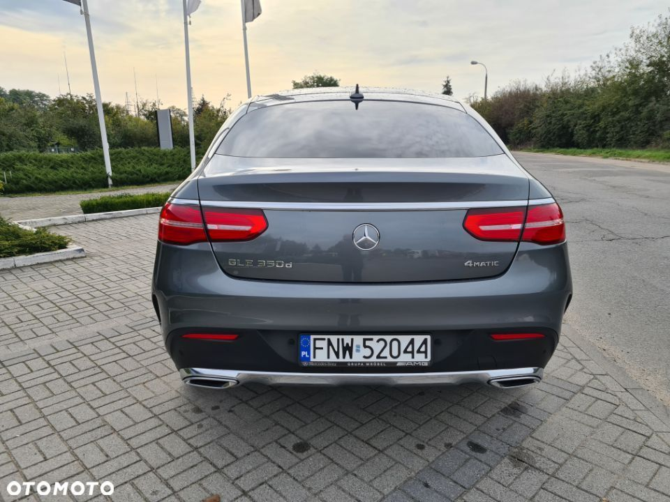Mercedes-Benz GLE 350 d 4 Matic Coupe AMG salon Polska - 6