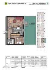 Apartament 2 camere cu gradina,decomandat , 88 mp,Brancoveanu adiacent