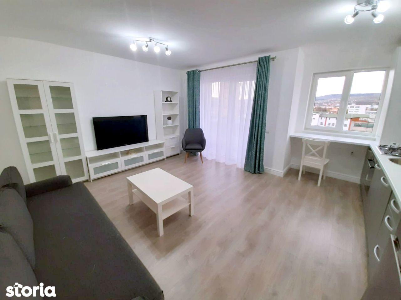 2 camere, bloc nou, mobilat modern, cu garaj, in Marasti zona Kaufland