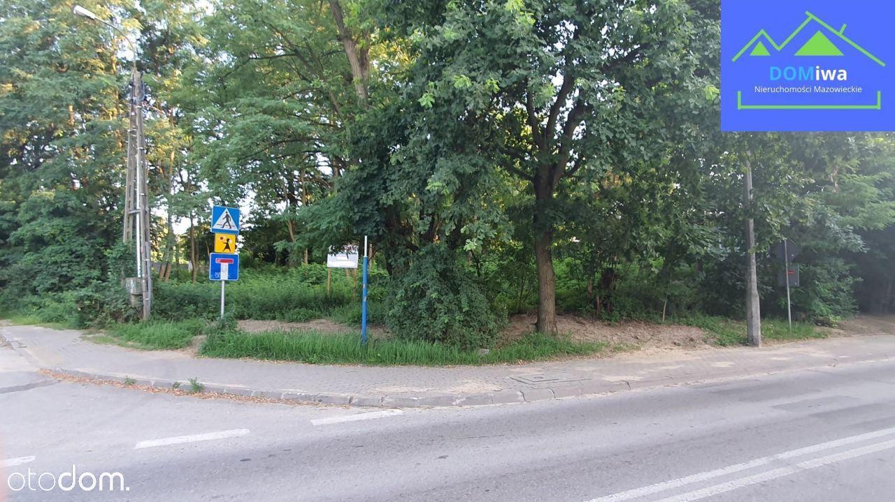 Pięknie położona działka budowlana,837m²,Białołęka