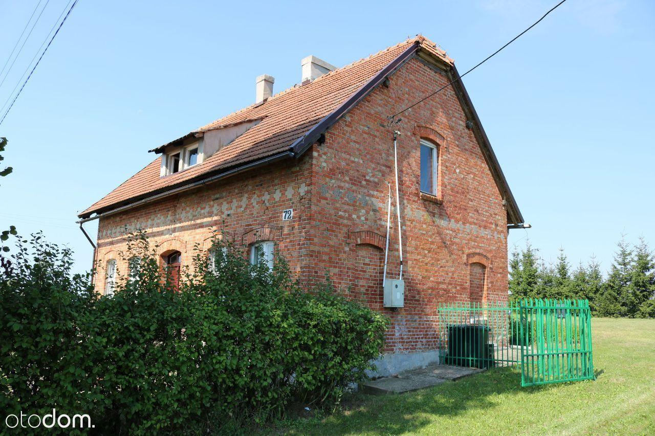 Ceglany dom, Jeleń Milanowo k. Gniewu