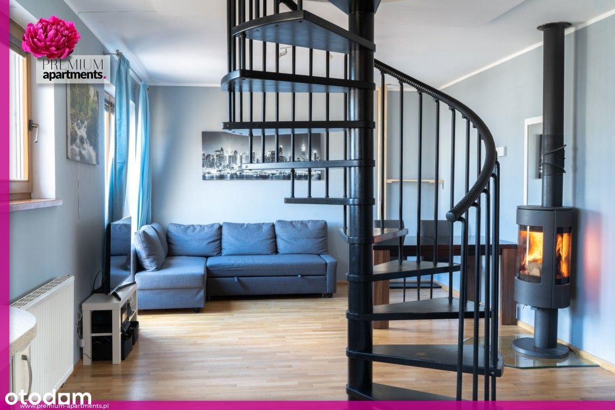 Apartament Orłowo 3 pokoje sauna kominek 2 balkony