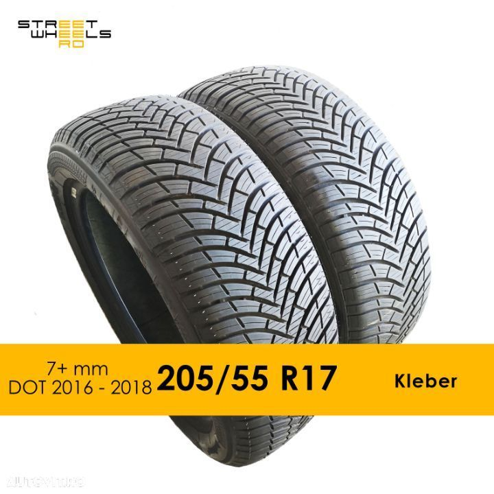 205/55 R17 KLEBER Quadraxer 2 - 2 Anvelope SH All season MS 205 55 17 M+S - 1
