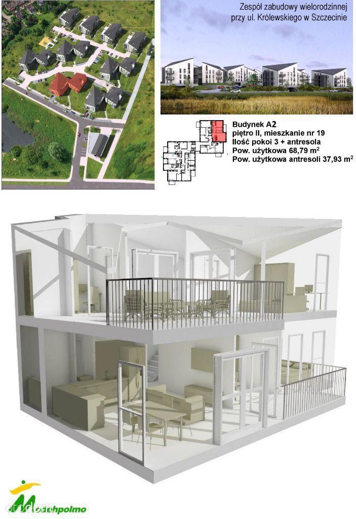 GALAKTYKA mieszkanie 2-poziomowe z antresolą A2-19