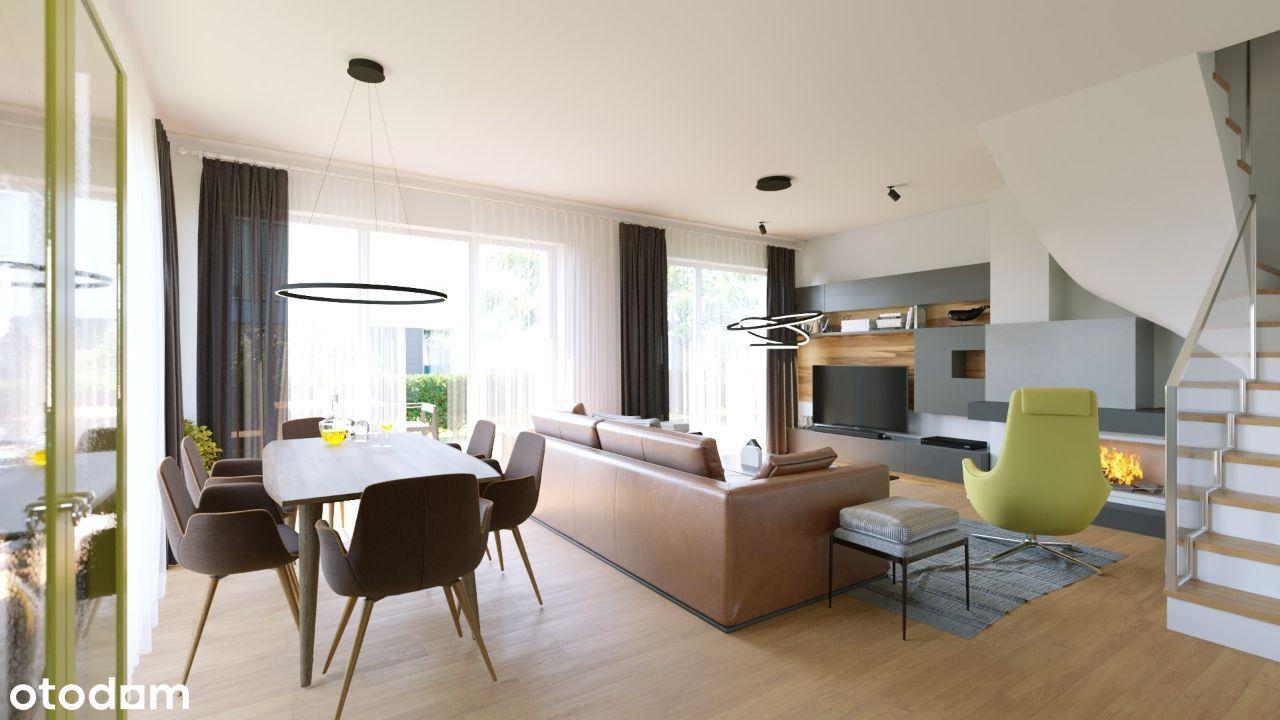 Invest Complex mieszkanie 76.2m2 z dużą działką