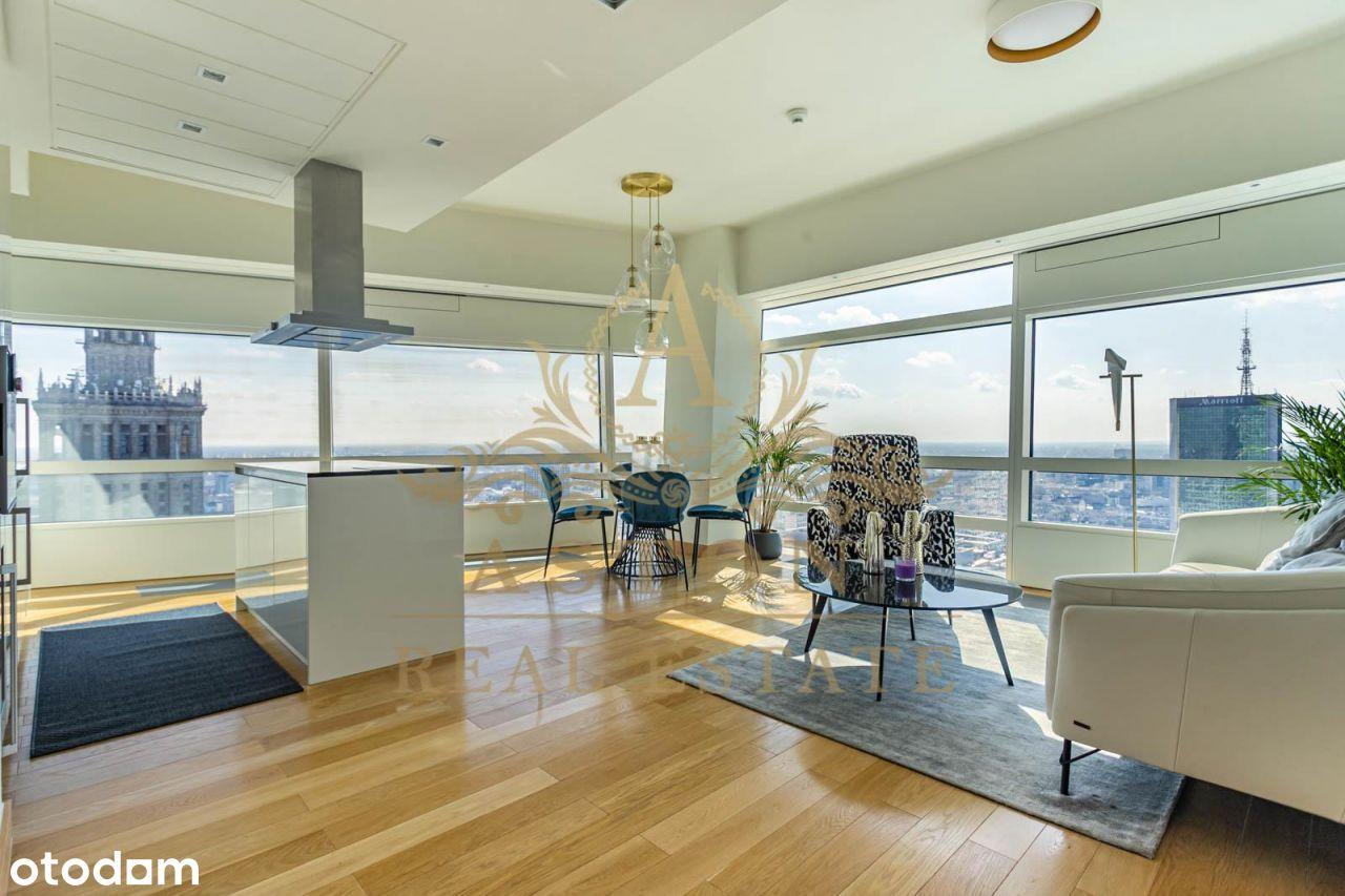 Luxury 2 bedroom apartment on 36th floor -Złota 44